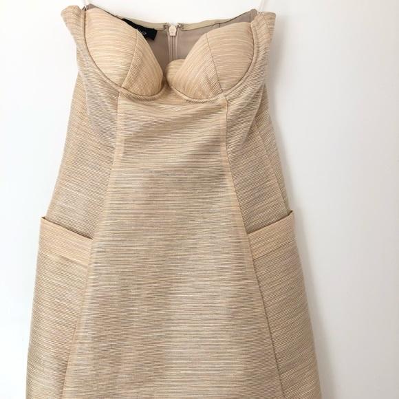 😍 Bebe Mini Dress w/Pockets 😍